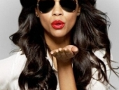 Zoe Saldana for lens crafters my look campaign 2013-6